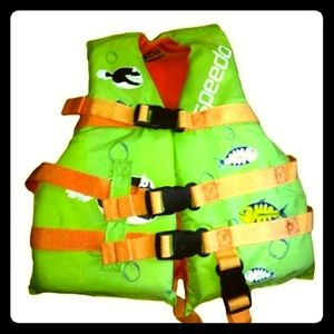 SPEEDO Flotation Aid Child 30-50 lbs Life Jacket